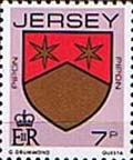 Jersey 1981 Arms of Jersey Families SG 256 Fine Mint