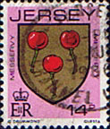 Jersey 1981 Arms of Jersey Families SG 263a Fine Used