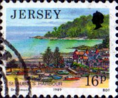 Jersey 1989 Scenes SG 476 Fine Used