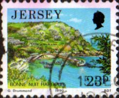 Jersey 1989 Scenes SG 483 Fine Used