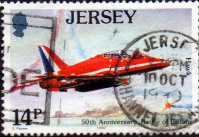 Jersey 1990 Battle of Britain SG 530 Fine Used