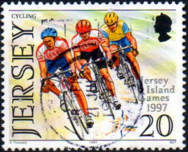 Jersey 1997 Island Games SG 818 Fine Used