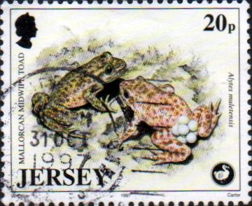 Jersey 1997 Wildlife SG 824 Fine Used