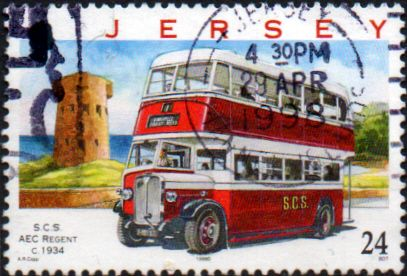 Jersey 1998 Motor Transport Company Buses SG 845 Fine Used