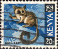 Kenya 1966 Republic Animals SG 23 Fine Used
