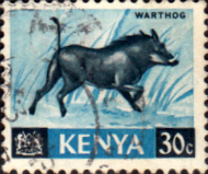 Kenya 1966 Republic Animals SG 24 Fine Used