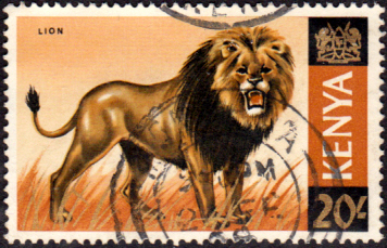 Kenya 1966 Republic Animals SG 35 Fine Used
