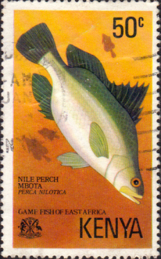 Postage Stamps Kenya 1977 Game Fish of East Africa SG 71 Fine Used Scott 68