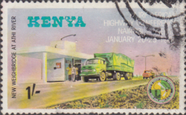 Postage Stamps Kenya African Highway Conference SG 169 Fine Used Scott 159