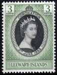Leeward Islands Queen Elizabeth II 1953 Coronation Fine Mint