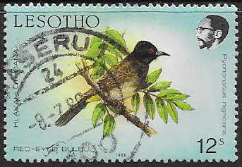 Lesotho 1988 Birds SG 795 Fine Used