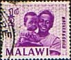 Malawi 1964 SG 215 Mother and Child Fine Used