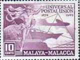 Malay State of Malacca 1949 Universal Postal Union SG 18 Fine Mint