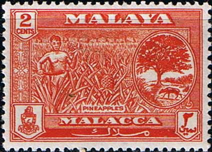 Malay State of Malacca Stamps