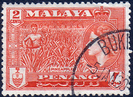 Malay State of Penang Stamps