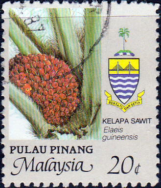Malay State of Penang 1986 Agriculture SG 105 Fine Used