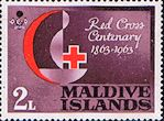 Maldive Islands 1963 Red Cross Centenary SG 125 Fine Mint