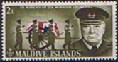 Maldive Islands 1966 Churchill SG 204 Fine Mint