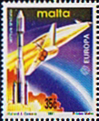 Malta 1991 Europa Europe in Space SG 889 Fine Mint