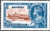 Mauritius 1935 King George V Silver Jubilee SG 247 Fine Mint