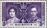 Mauritius 1937 King George VI Coronation SG 249 Fine Mint