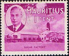 Mauritius Stamps 1950 SG 276 Sugar Factory Fine Mint