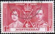 Montserrat 1937 King George VI Coronation SG 98 Fine Used