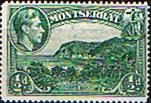 Montserrat 1938 King George VI SG 101a Carrs Bay Fine Mint