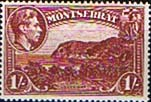 Montserrat 1938 King George VI SG 108 Carrs Bay Fine Mint