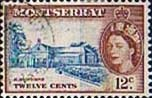 Montserrat 1953 Queen Elizabeth II SG 144 St Anthonys Church Fine Used
