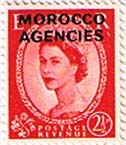 Morocco Agencies British Currency 1952 Queen Elizabeth II SG 105 Fine Mint