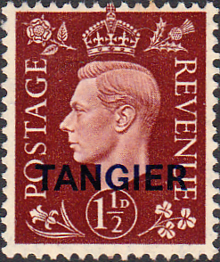 Morocco Agencies TANGIER 1940 SG 247 King George VI Fine Mint