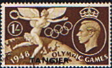 Stamps Morocco Agencies TANGIER 1948 Set Olympic Games Fine Mint