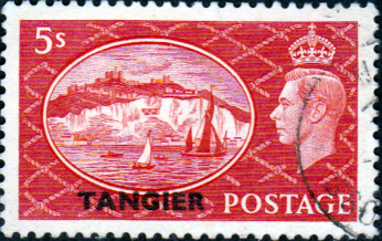 Morocco Agencies TANGIER 1950 SG 287 King George VI Fine Used