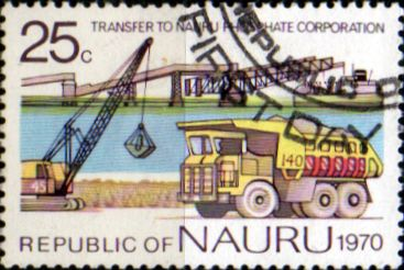 Nauru Stamps 1975 South Pacific Commission Conference