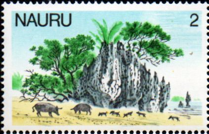 Nauru Stamps 1978 Christmas