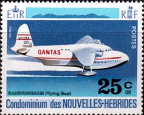 New Hebrides 1972 Aircraft Planes SG F170 French Fine Mint