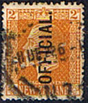 New Zealand 1915 King George V Official SG O92 Fine Used
