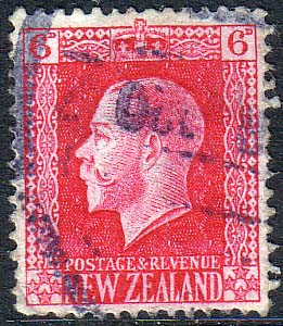 New Zealand 1915 SG 425d George V Head Fine Used