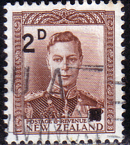 New Zealand 1941 Overprint SG 629 Fine Used