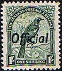 New Zealand 1942 King George VI Official SG O131b Fine Mint