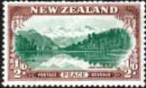 New Zealand 1946 King George VI Victory SG 667 Fine Used