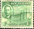New Zealand 1946 King George VI Victory SG 668 Fine Mint