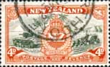 New Zealand 1946 King George VI Victory SG 672 Fine Used