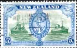 New Zealand 1946 King George VI Victory SG 673 Fine Used