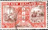 New Zealand 1946 King George VI Victory SG 674 Fine Used