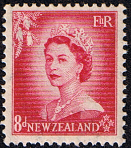 Military Vehicles For Sale Canada >> Postage Stamps New Zealand 1953 Queen Elizabeth SG 730 Fine Mint Scott 295