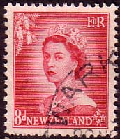 New Zealand 1953 Queen Elizabeth SG 730 Fine Used