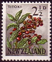 New Zealand 1960 Flowers SG 784 Fine Mint