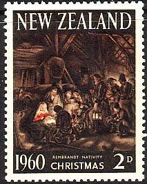 New Zealand 1960 SG 805 Christmas Fine Mint